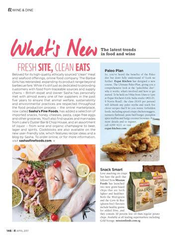 Expat Living Features Sasha's Fine Foods - April issue 2017