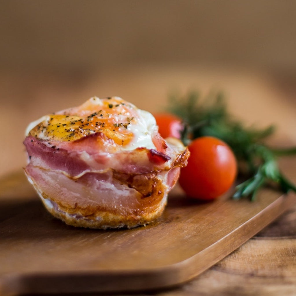 Bacon and Egg Breakfast Cups