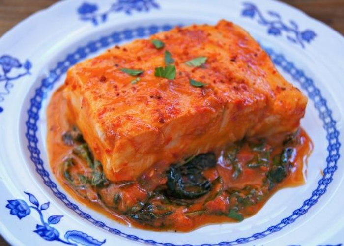 Patagonian Toothfish with Red Pepper