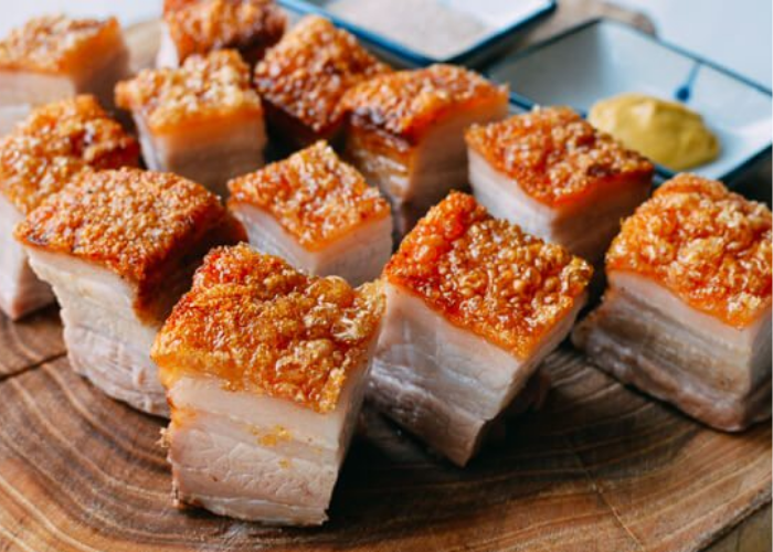 Chinese Crispy Roast Pork Belly