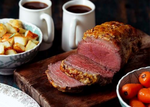 Beef Mini Roast with Mustard Crust