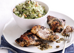 Vietnamese Herby Chicken with Nutty Green Rice Salad