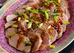 Chinese Pork Loin with Honey Garlic Sauce