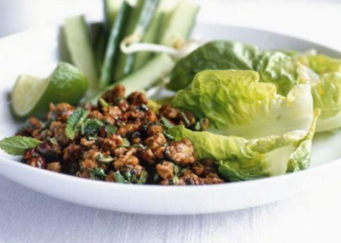Thai Minced Chicken Salad