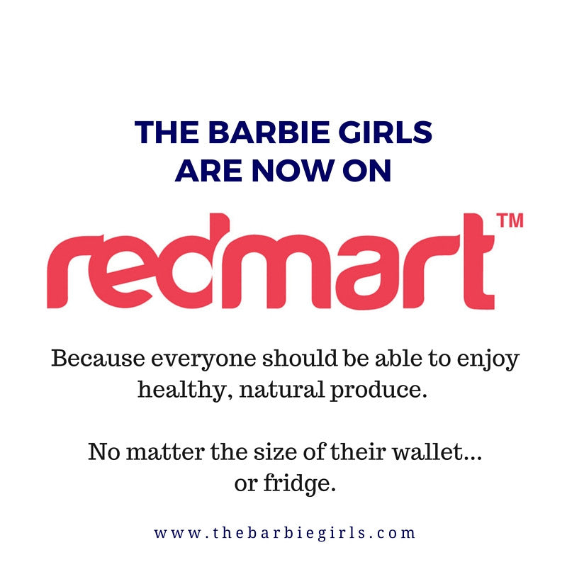 We're Now Selling On Redmart!