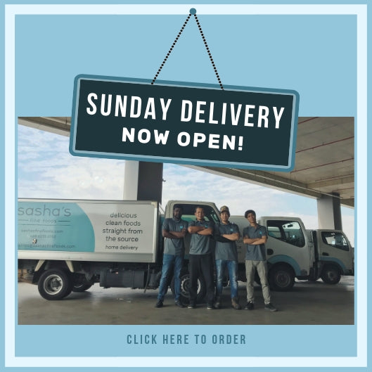 Sunday Delivery Now Open! 🚚