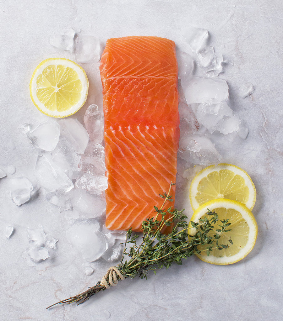 New Skinless Salmon Arrives - Salmon Sashimi, Ceviche and Tartare Awaits!