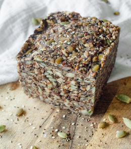 Low Carb Nut & Seed Bread