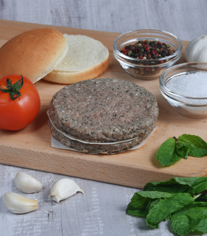 Load image into Gallery viewer, Rhug Estate Organic Welsh Lamb & Mint Burgers