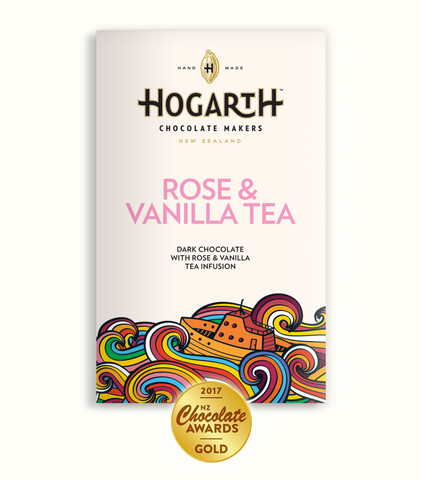 Rose & Vanilla Tea Chocolate