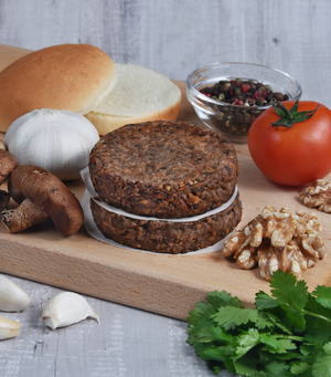 Load image into Gallery viewer, Our Very Own Walnut Mushroom Burgers