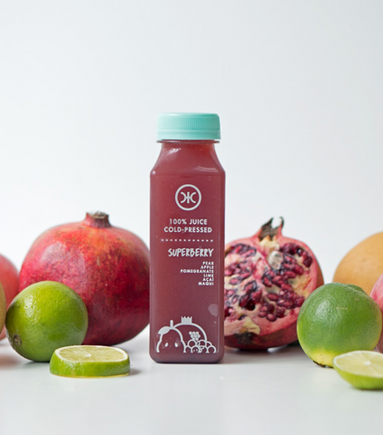 Cold Pressed Juice - Superberry