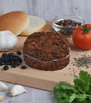 Load image into Gallery viewer, Our Very Own Gluten-Free Black Bean Vegan Burgers