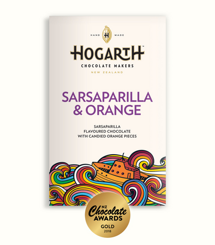 Sarsaparilla & Candied Orange Chocolate