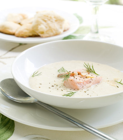 Noosa Salmon Coconut Soup