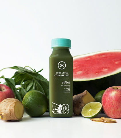 Cold Pressed Sugar Free Juice - Greens