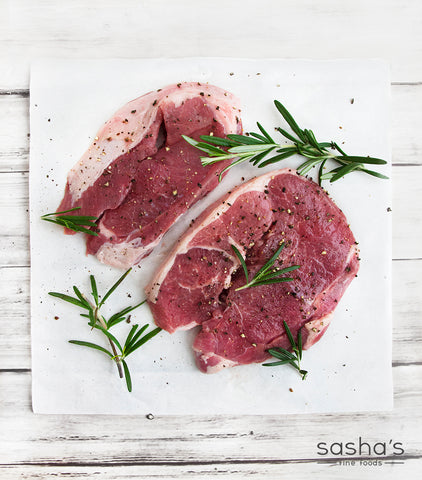 Welsh Lamb Boneless Leg Steaks