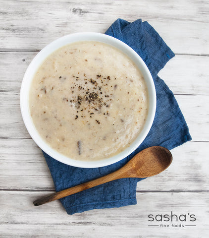 Our Very Own Cream of Mushroom Soup