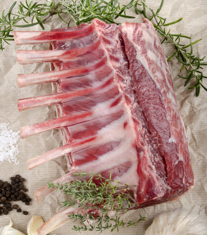 New Zealand Rack Of Lamb 75mm ribs