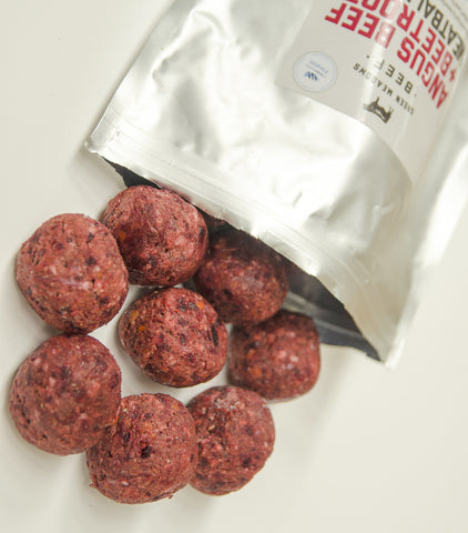 New Zealand Premium Angus Beef & Beetroot Meatballs