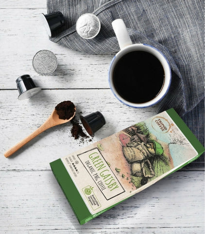Tripod Coffee - Green Gatsby, Nespresso-Compatible Coffee Capsules