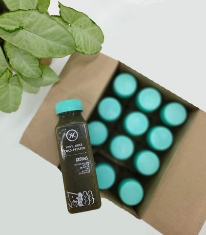 Cold Pressed Juice - Green Box