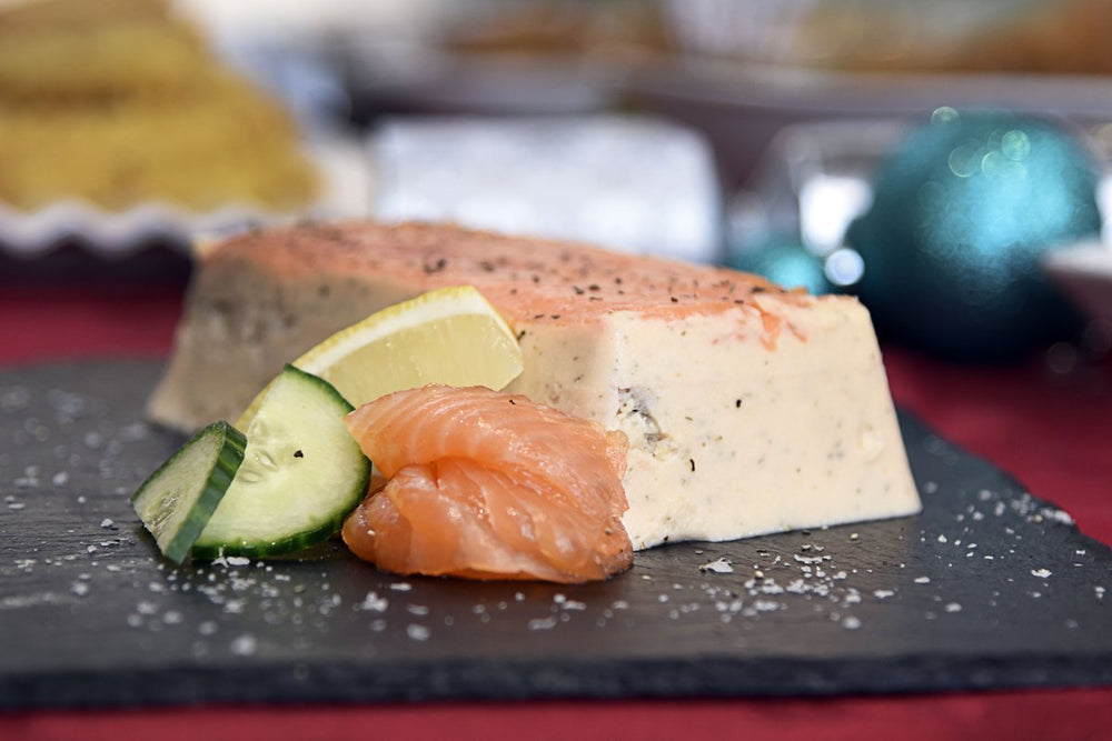 Load image into Gallery viewer, Inverawe Triple Terrine of Scottish Salmon
