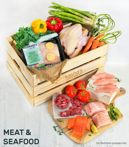 August Wallet Wise Meat & Seafood Box
