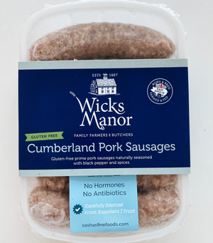 Load image into Gallery viewer, Wicks Manor English Cumberland Sausages (Gluten Free)