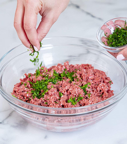 A pack of plant based Beyond beef meat mince - 450g (Frozen)