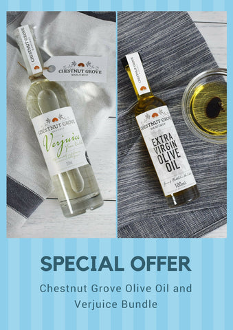 SPECIAL OFFER - Chestnut Grove Olive Oil and Verjuice Bundle