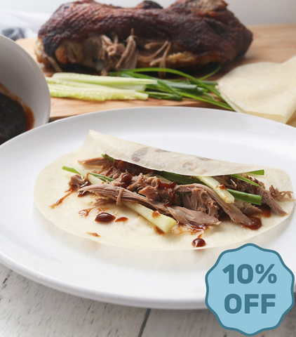 Silver Hill Half Crispy Duck with Pancakes and Hoisin Sauce (Twin Pack)