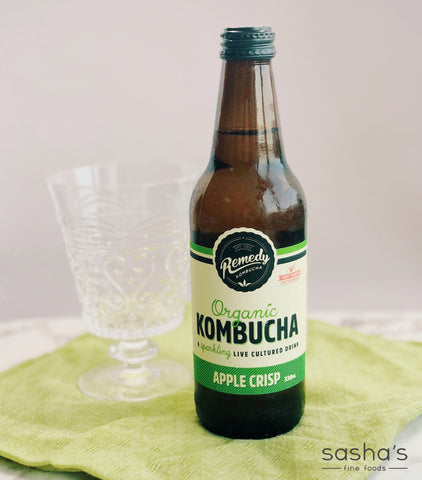 Organic Remedy Kombucha Apple Crisp