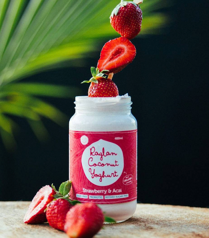 NZ Raglan Coconut Yoghurt, Strawberry & Acai