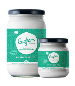 NZ Raglan Coconut Yoghurt, Natural Greek Style