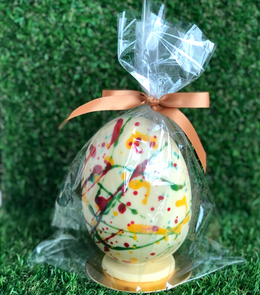 Medium White Chocolate Easter Egg