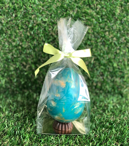 Small Dark Chocolate Easter Egg