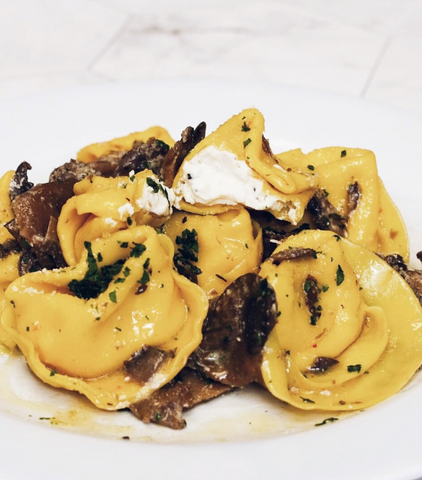 Black Truffle & Burrata Cheese Tortelloni