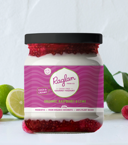 NZ Raglan Coconut Yoghurt, Raspberry & Lime