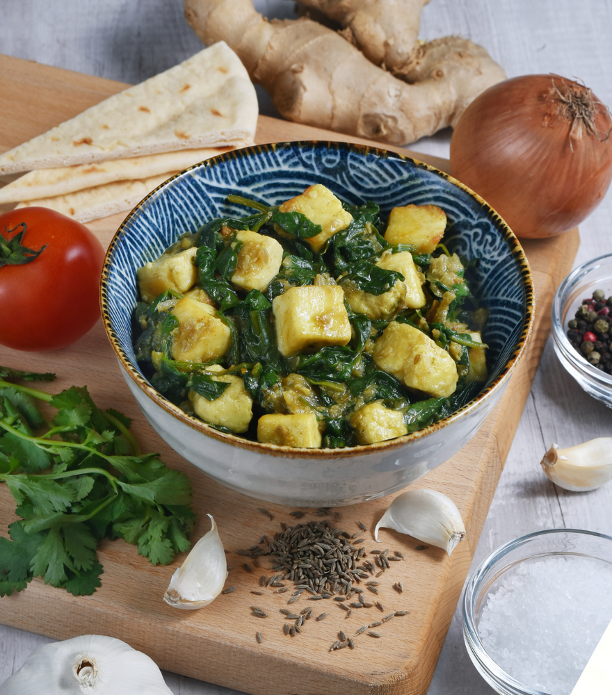 Our Very Own Palak Paneer