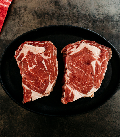 New Zealand Organic Beef Ribeye Steak