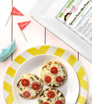 Load image into Gallery viewer, Spinach Pesto Mini Pizzas