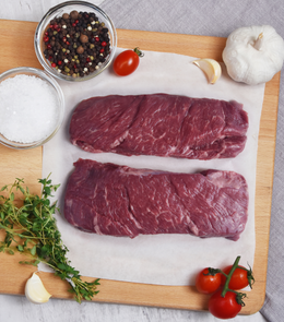 Rhug Estate Organic Aberdeen Angus Beef Braising Steak