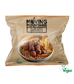 Moving Mountains Plant-Based Meatballs