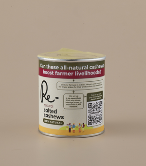 Load image into Gallery viewer, Re- Natural Salted Cashews Can