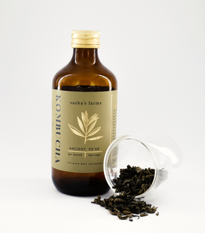 Load image into Gallery viewer, Sasha's Farms Kombucha, Ancient Pu'er