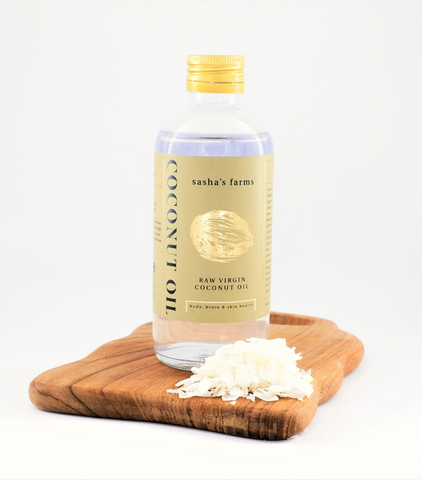 Sasha's Farms Organic Virgin Coconut Oil