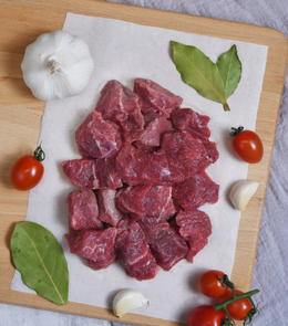 Green Meadows New Zealand Angus Diced Beef