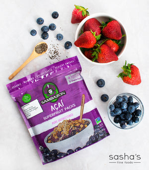 Load image into Gallery viewer, Sambazon Amazonian Organic Acai Pack Pure Unsweetened