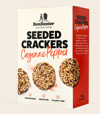 Cayenne Pepper Seeded Crackers